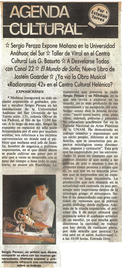 Agenda-cultural-El-Sol-de-Mexico-marte-2-de-mayo-1995