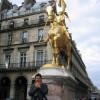 Jeanne d' Arc Escultura de Fremiet Paris Francia