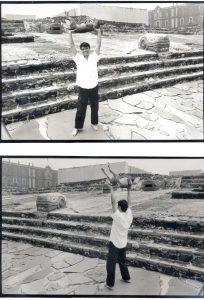 Sergio y Glifo en TEMPLO MAYOR 2000