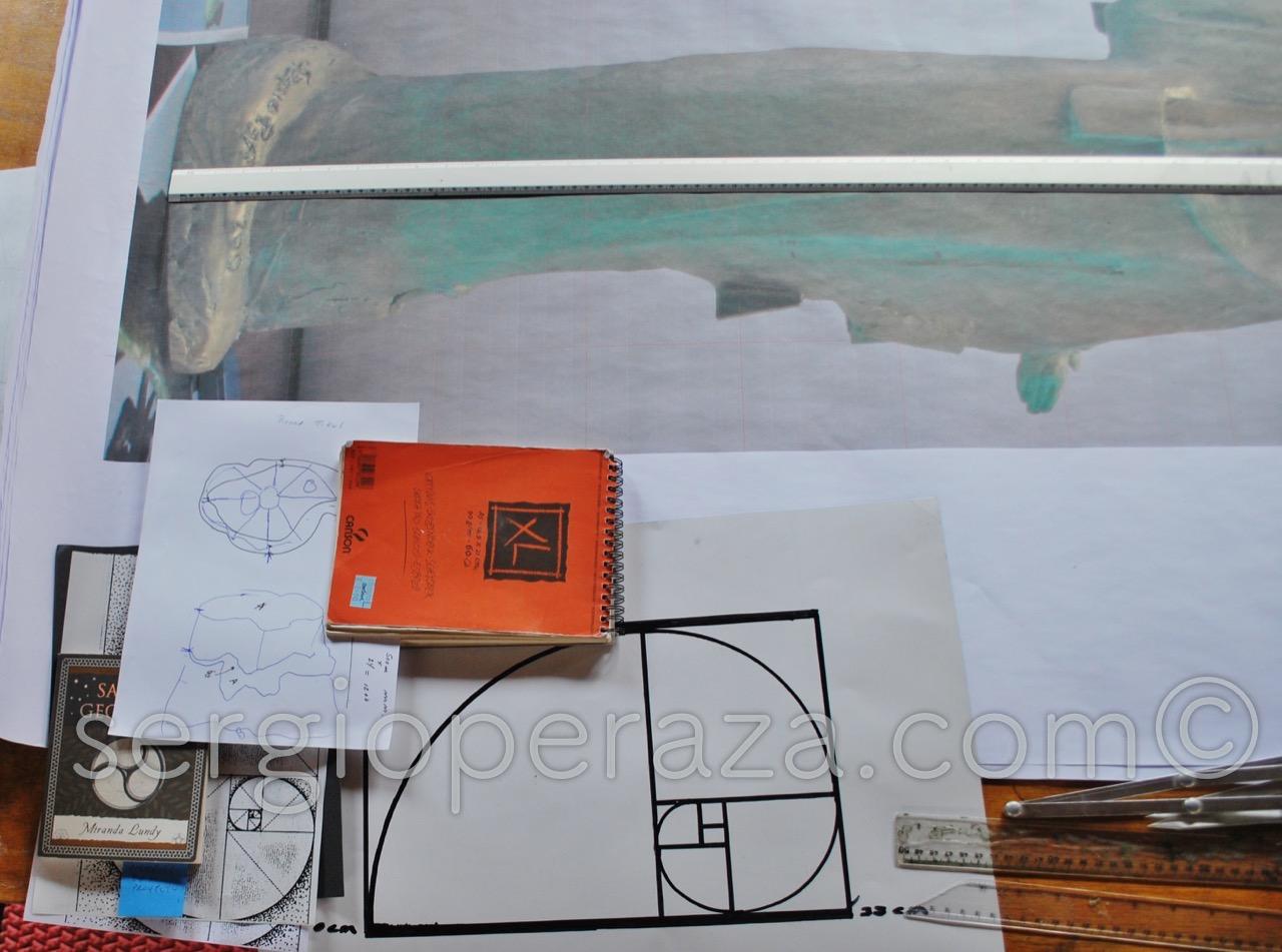 4 La Geometria Sagrada, La Seccion Aurea Sergio Peraza Artista Escultor_Watermarked_1