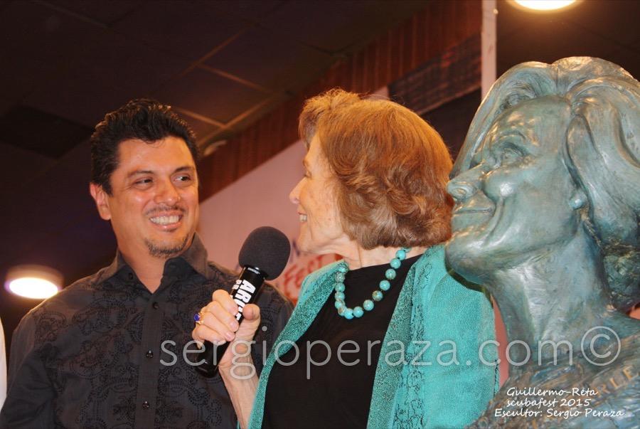 Develacion Busto Escultorico Sylvia Earle 10 Sergio Peraza Artista Escultor