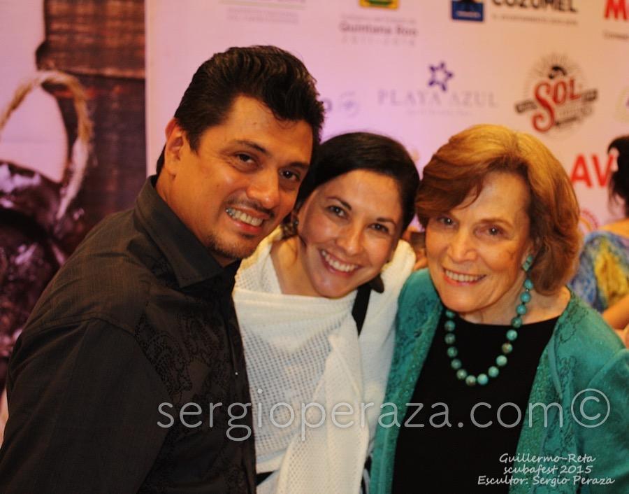 Develacion Busto Escultorico Sylvia Earle 13 Sergio Peraza Artista Escultor