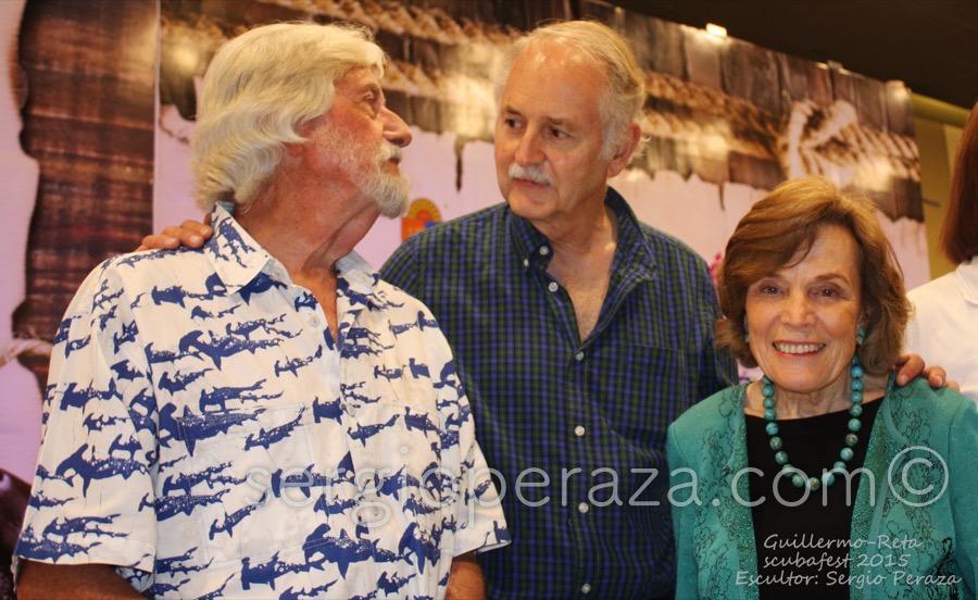 Develacion Busto Escultorico Sylvia Earle 14 Sergio Peraza Artista Escultor