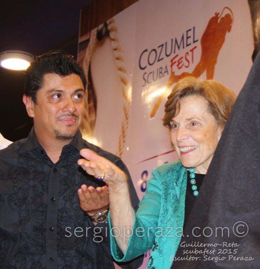 Develacion Busto Escultorico Sylvia Earle 5 Sergio Peraza Artista Escultor