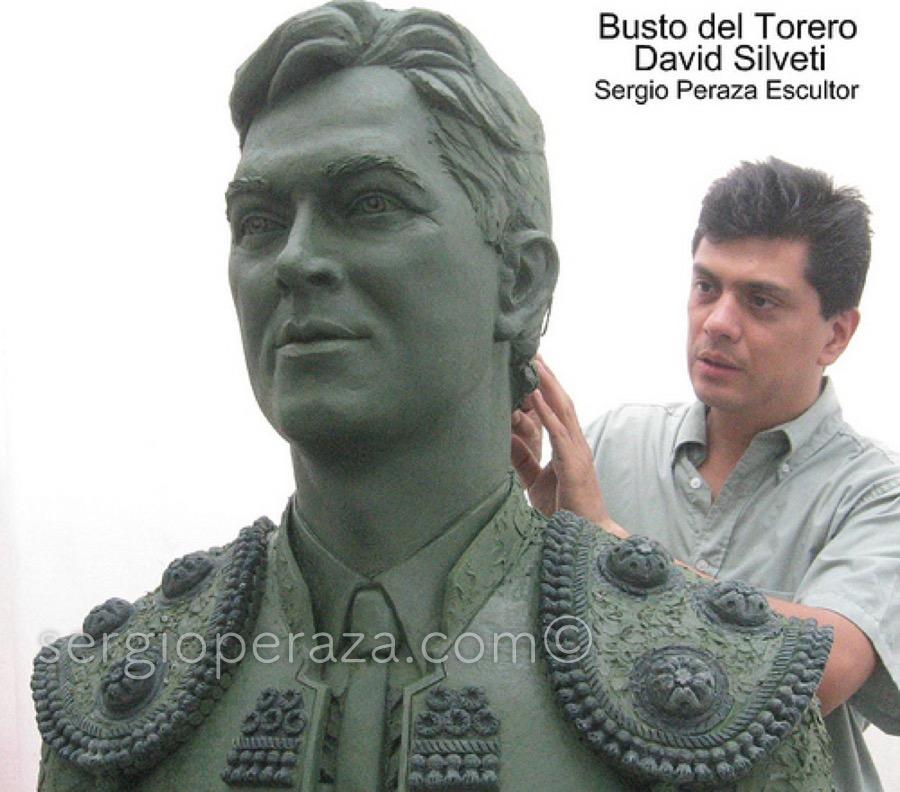 Sergio-Peraza-Busto-Escultorico-de-David-Silveti-1
