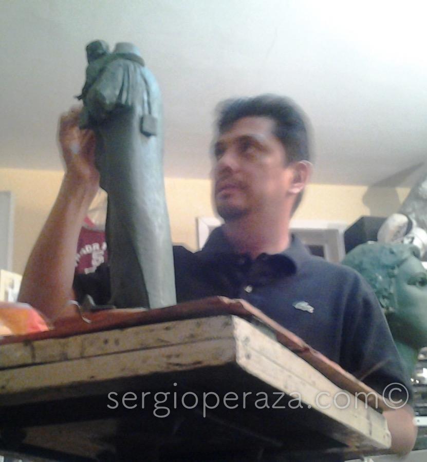 Stella maris primer boceto Sergio Peraza Artista Escultor Sergio Peraza Artista Escultor