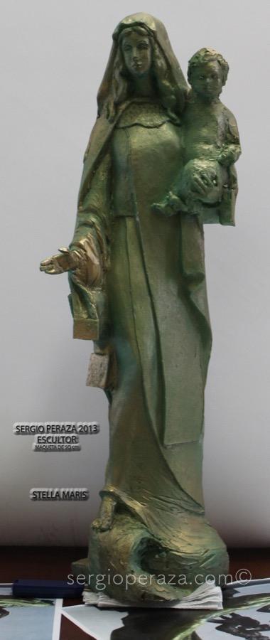 Virgen frente Sergio Peraza Artista Escultor Sergio Peraza Artista Escultor