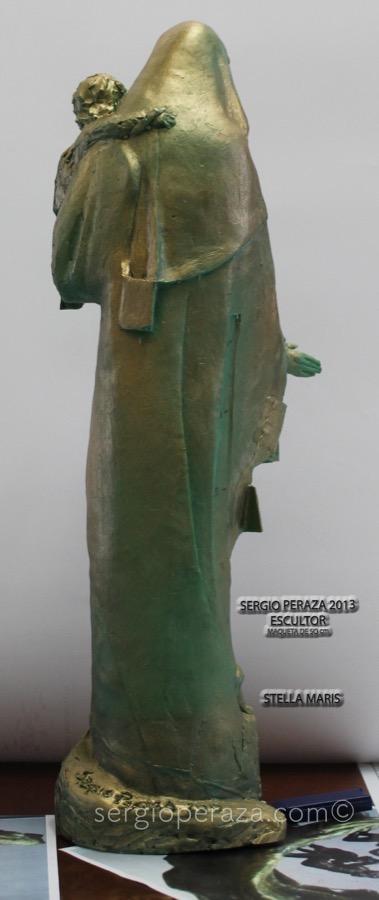 Virgen posterior Sergio Peraza Artista Escultor Sergio Peraza Artista Escultor