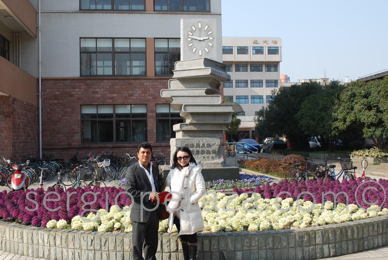 Fudan University Shangai (1) Sergio Peraza Artista Escultor