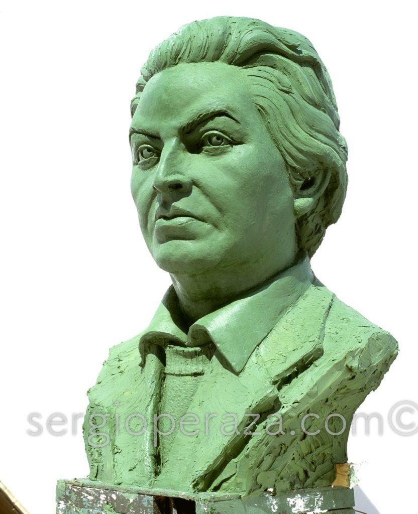busto gabriela mistral -  busto escult u00f3rico