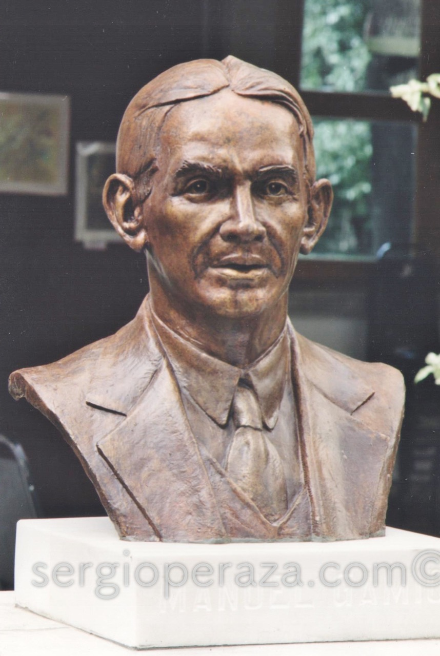 Busto Manuel Gamio - [Busto Escultórico] - <b>Sergio Peraza</b> | Arte Escultórico - Manuel-Gamio-1912-Bronce-Sergio-Peraza-Artista-Escultor-1