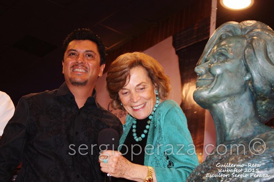 Develacion Busto Escultorico Sylvia Earle 11 Sergio Peraza Artista Escultor