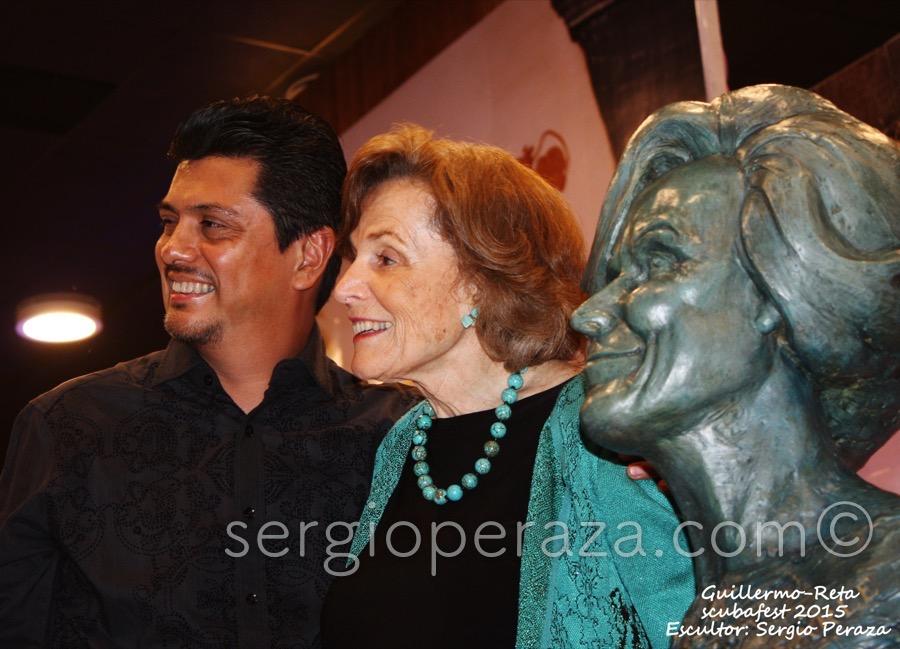 Develacion Busto Escultorico Sylvia Earle 12 Sergio Peraza Artista Escultor