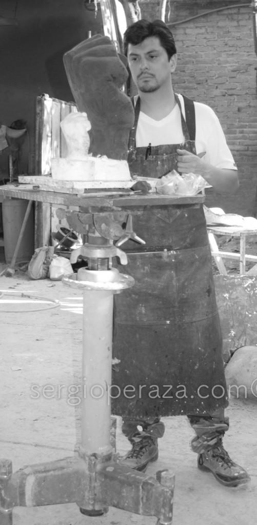 10.29.2008 038 Sergio Peraza Artista Escultor Sergio Peraza Artista Escultor
