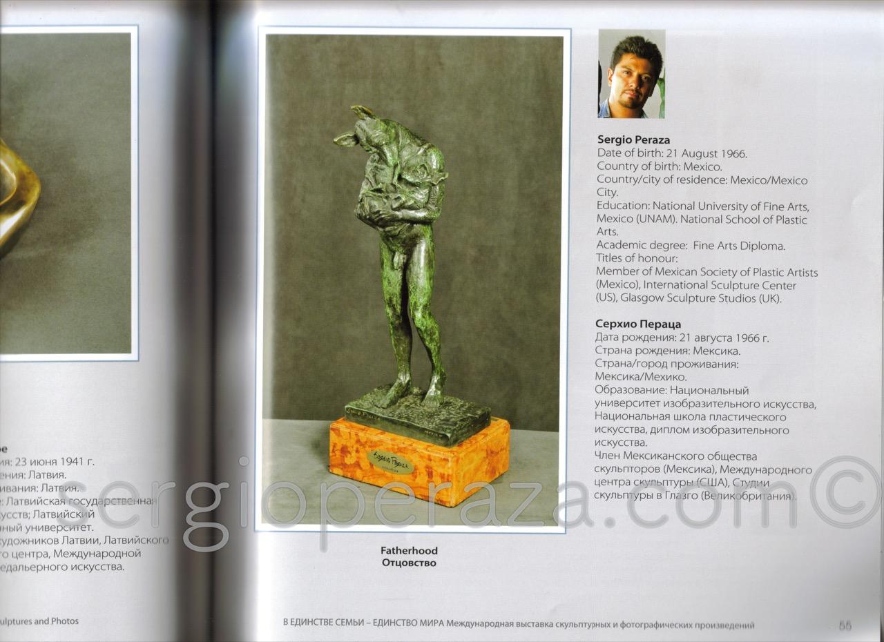 Catalogo Expo Rusia Sergio Peraza Artista Escultor