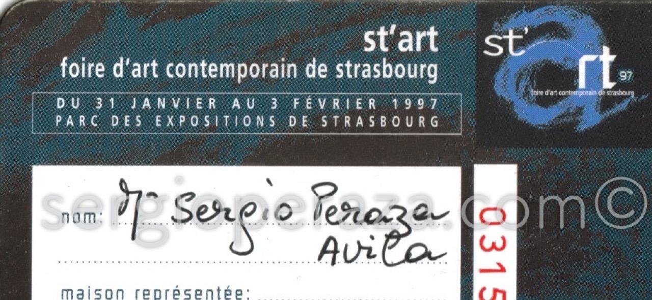 Strasbourg Sergio Peraza Artista Escultor